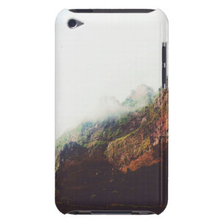 Misty Mountains, Relaxing Nature Landscape Scene Barely There iPod Covers