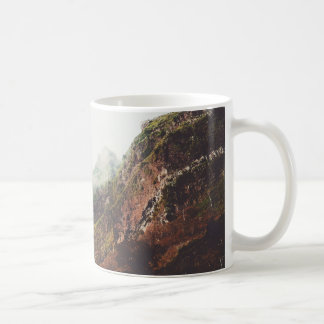 Misty Mountains, Relaxing Nature Landscape Scene Coffee Mug