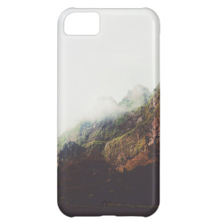 Misty Mountains, Relaxing Nature Landscape Scene iPhone 5C Case