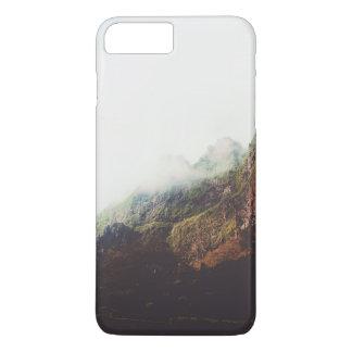 Misty Mountains, Relaxing Nature Landscape Scene iPhone 8 Plus/7 Plus Case