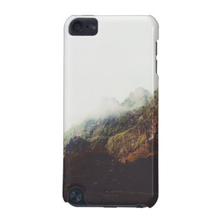Misty Mountains, Relaxing Nature Landscape Scene iPod Touch (5th Generation) Case