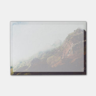 Misty Mountains, Relaxing Nature Landscape Scene Post-it Notes