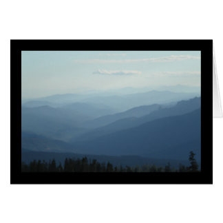 Misty Mountains- Song of Sol. 4:15 Greeting Card