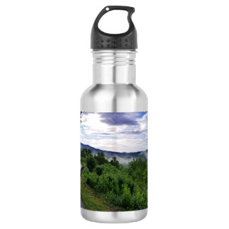 Misty Mountains The Great Smoky Mountains 532 Ml Water Bottle