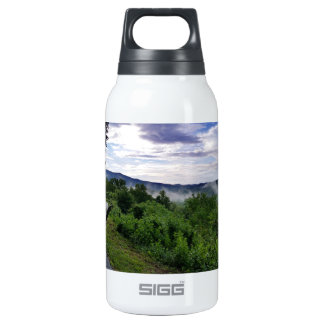 Misty Mountains The Great Smoky Mountains Insulated Water Bottle