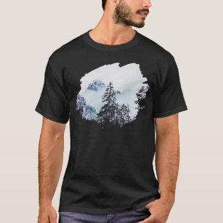 Misty peak Watercolor T-Shirt