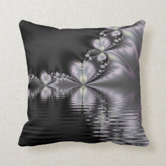 Misty Reflection Throw Pillow