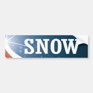 Misty Snow 2016 Bumper Sticker