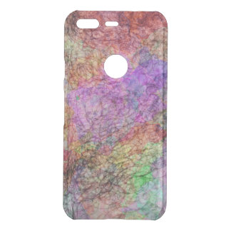 Misty Swirls of Abstract Colors Purple Pinks Green Uncommon Google Pixel Case