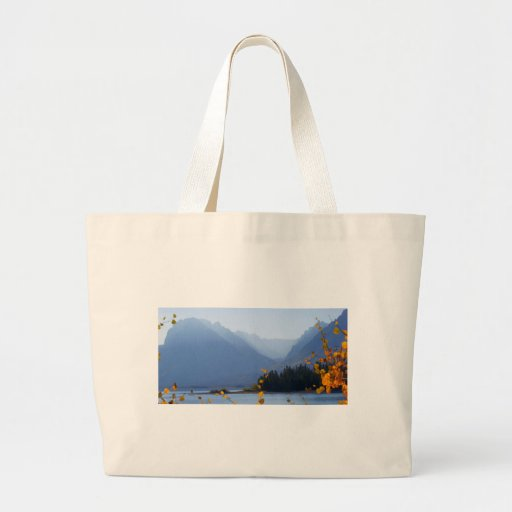 Misty Tetons Tote Bags