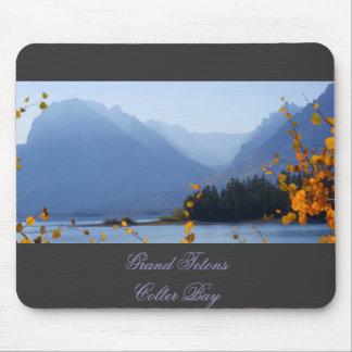 Misty Tetons Mouse Pad