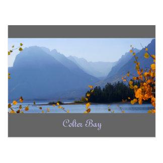 Misty Tetons Postcard