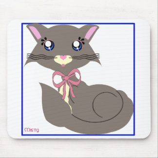 Misty Toon Kitty Mousepad