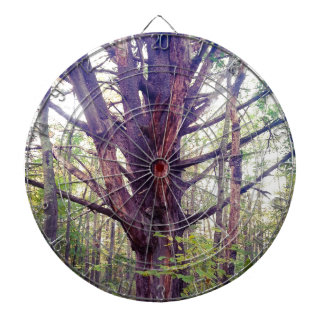 Misty Tree Dartboard