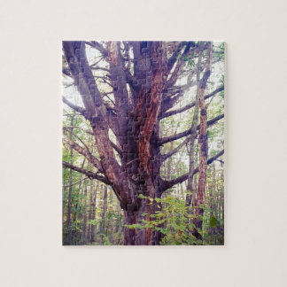 Misty Tree Jigsaw Puzzle