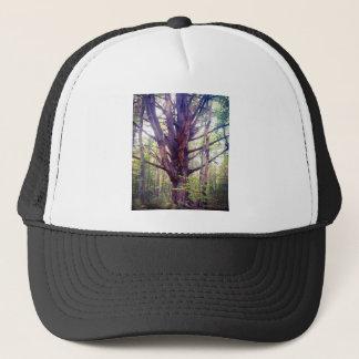 Misty Tree Trucker Hat