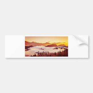 Misty Valley Bumper Sticker