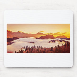 Misty Valley Mouse Pad