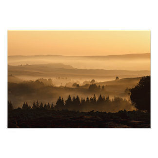 Misty Valley Photo Print