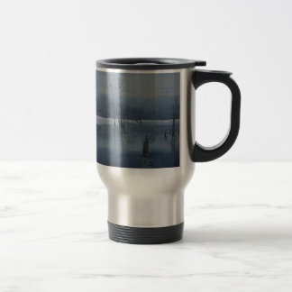 Misty water travel mug