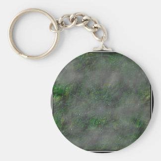 Misty Web Basic Round Button Key Ring