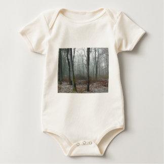 Misty Wood Baby Bodysuit