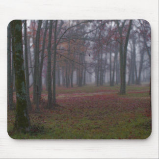 Misty Woods Mouse Pad