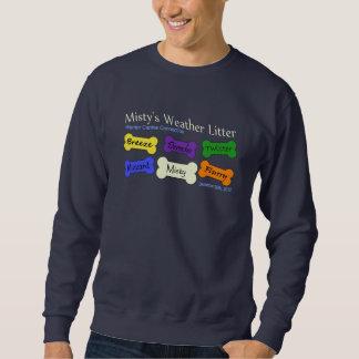 Misty's Litter - navy sweatshirt