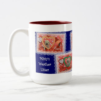 Misty's Puppy Love mug