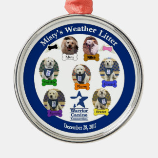 Misty's Weather Litter Family ornament