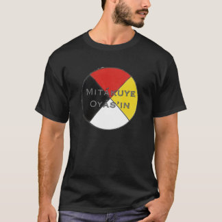 Mitakuye Oyasin Men's Dark Colors Lakota T-Shirt