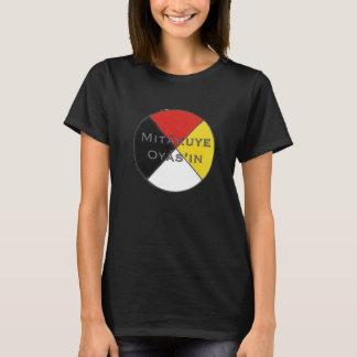 Mitakuye Oyasin Women's Dark Colours Lakota T-Shirt