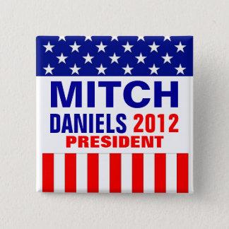 Mitch Daniels 2012 15 Cm Square Badge