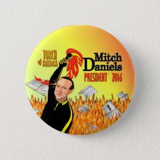 Mitch Daniels for President 2016 6 Cm Round Badge