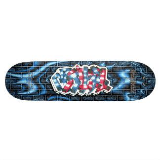 Mitchell 03 ~ Custom Graffiti Art Pro Skateboard