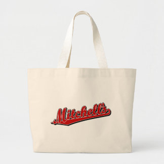 Mitchell's in Red Jumbo Tote Bag