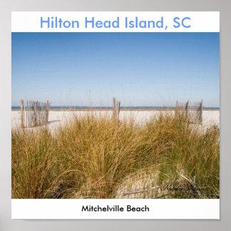 Mitchelville Beach 2008, Natalie Nelson Poster
