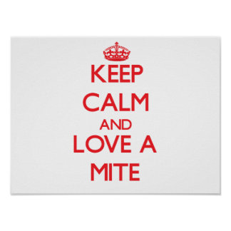 Mite Posters