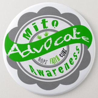 Mito Advocate 6 Cm Round Badge