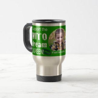 Mito Awareness Hope Faith Cure Travel Mug