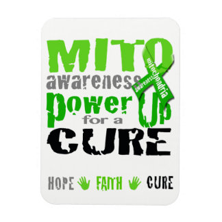 Mito Awareness Power Up for a Cure Magnet