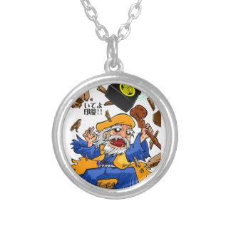 Mito Come ON! English story Mito Ibaraki Silver Plated Necklace