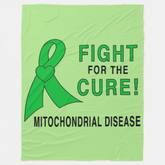 Mitochondrial Disease Fight for the Cure Fleece Blanket