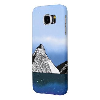 Mitre Peak Line ART New Zealand Samsung Galaxy S6 Cases