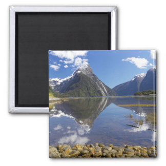 Mitre Peak, Milford Sound, Fiordland National Magnet