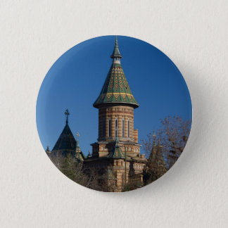 Mitropolitan Cathedral, Timisoara, Romania 6 Cm Round Badge