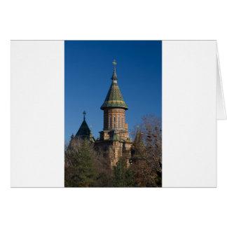 Mitropolitan Cathedral, Timisoara, Romania Card