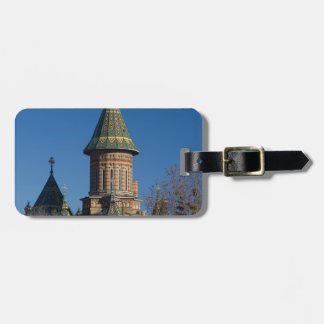 Mitropolitan Cathedral, Timisoara, Romania Luggage Tag