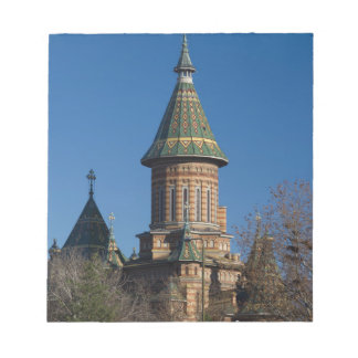 Mitropolitan Cathedral, Timisoara, Romania Notepad