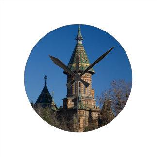 Mitropolitan Cathedral, Timisoara, Romania Round Clock